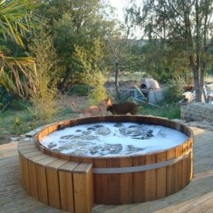 northern lights hot tub