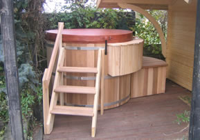 standalone hot tub